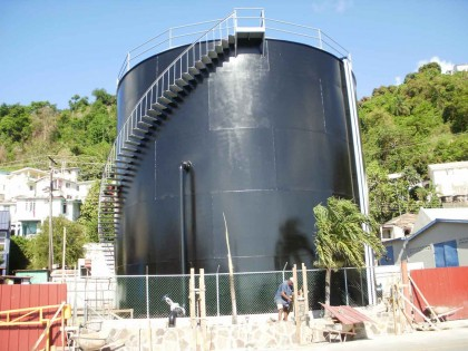 St.Vincent Distillers Molasses Tank